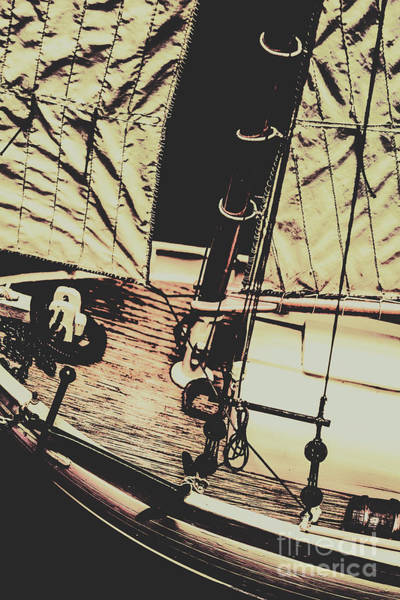 Rigging Photograph - Seafaring Sails by Jorgo Photography - Wall Art Gallery
