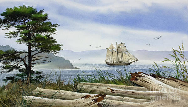 Wall Art - Painting - Seafaring Shore by James Williamson