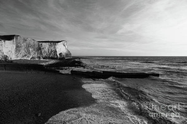 Photograph - Seaford Head East Sussex England by James Brunker