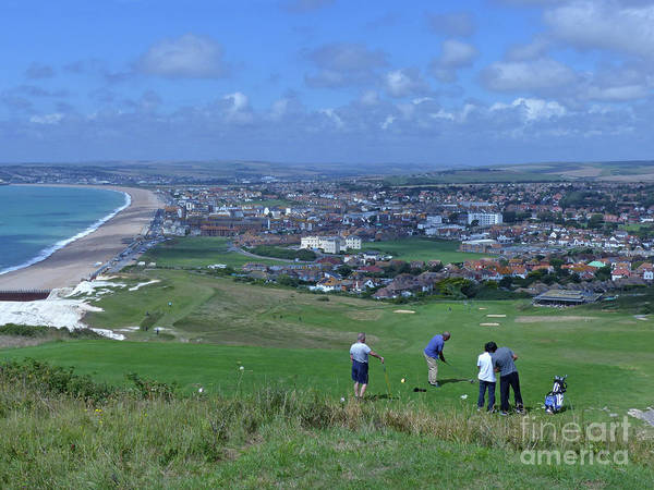 Photograph - Seaford Head Golf Course by Phil Banks