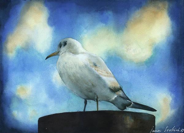 Painting - Seagull by Zapista Zapista