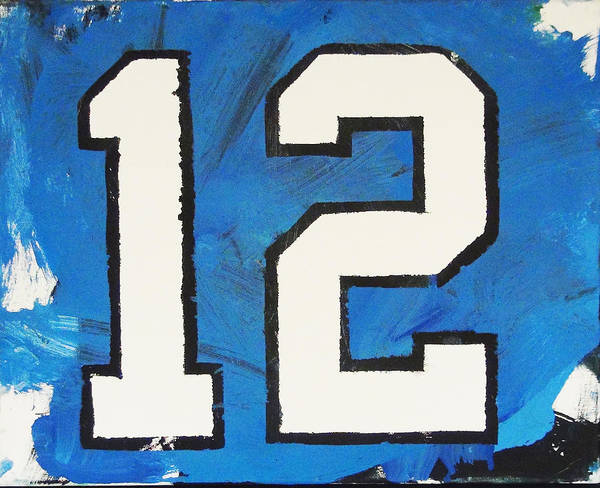 Painting - Seahawks Fan by Candace Shrope