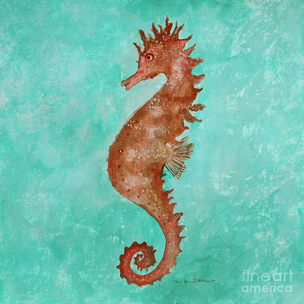 Painting - Seahorse by Robin Maria Pedrero