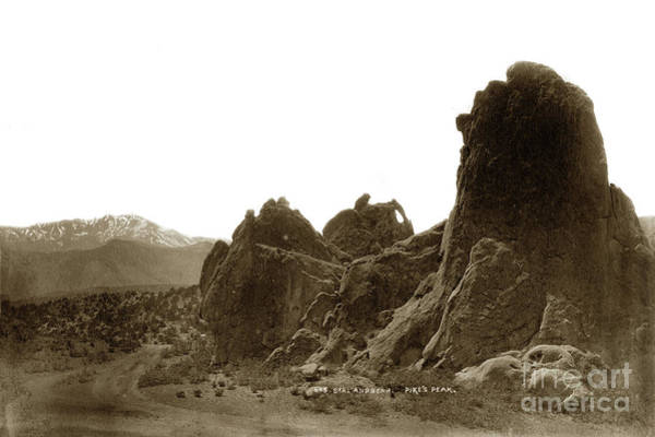 Photograph - Seal And Bear, Garden Of The Gods,  Pikes Pike, Colorado by California Views Archives Mr Pat Hathaway Archives