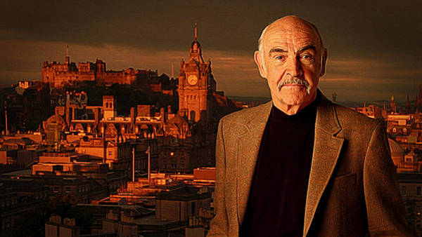 From Russia With Love Wall Art - Painting - Sean Connery by Queso Espinosa