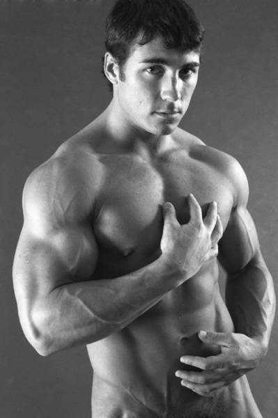 Physique Photograph - Sean Patrick 3 by Thomas Mitchell