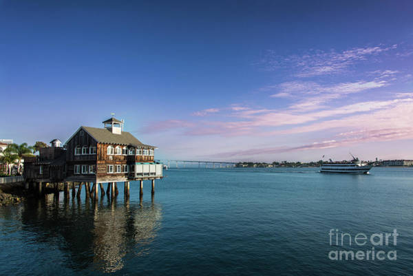 Photograph - Seaport Village At Dusk by David Levin