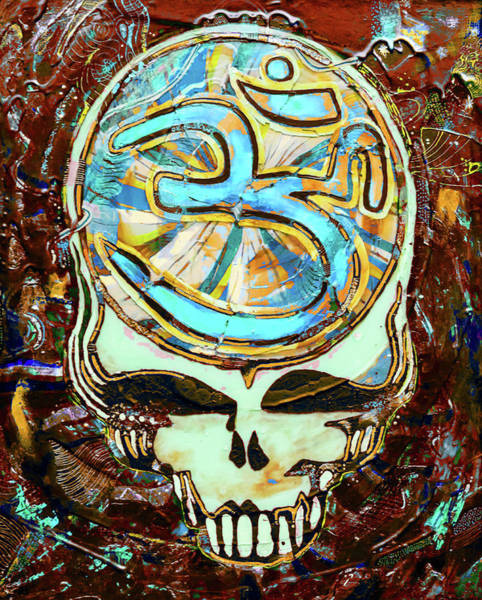 Deadhead Wall Art - Painting - Search For The Sound 3 by Kevin J Cooper Artwork