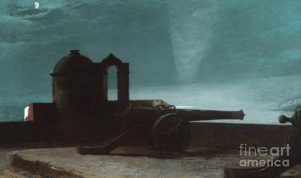 Wall Art - Painting - Searchlight On Harbor Entrance, Santiago De Cuba, 1901 by Winslow Homer