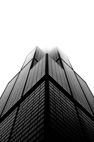 Wall Art - Photograph - Sears Tower In Cluds by Sebastian Musial