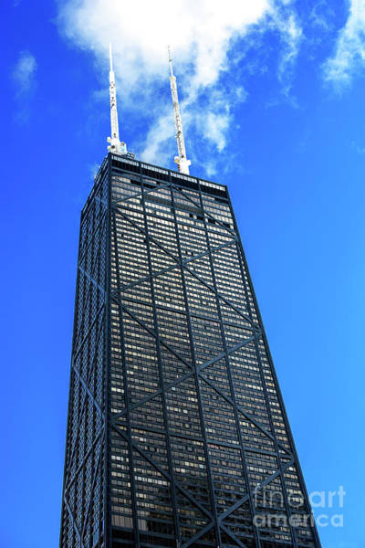 Photograph - Hancock Building Chicago by John Rizzuto