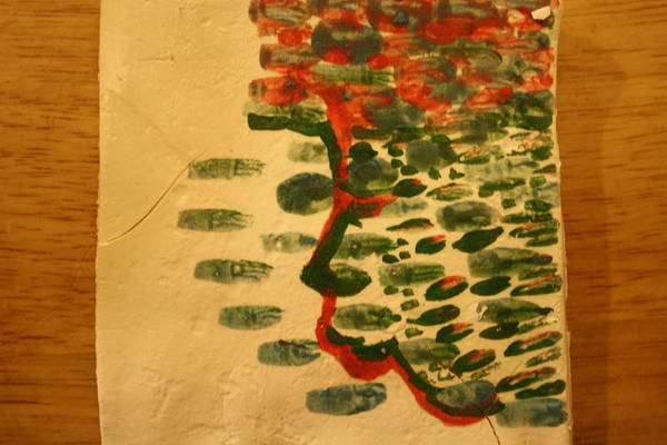 Ceramic Art - Seas Of Thoughts - Tile by Gloria Ssali