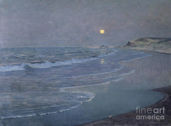 Nocturnal Wall Art - Painting - Seascape by Alexander Harrison