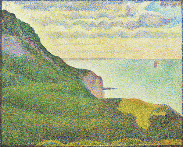 Painting - Seascape At Port-en-bessin, Normandy by Georges Seurat