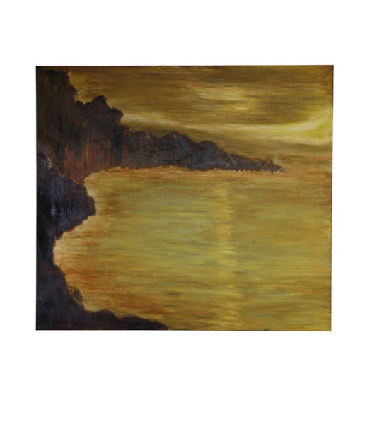Wall Art - Painting - Seascape by David  Lawrence Price