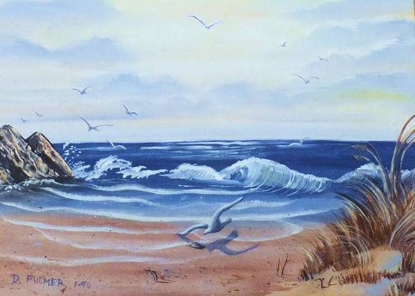Painting - Seascape by Denise F Fulmer