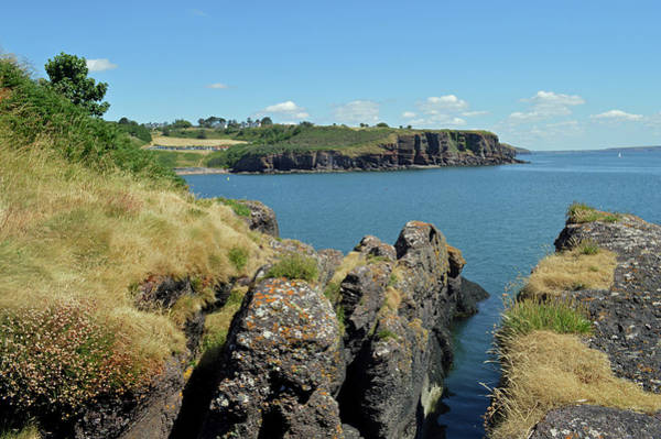 Wall Art - Photograph - Seascape Dunmore East. by Terence Davis