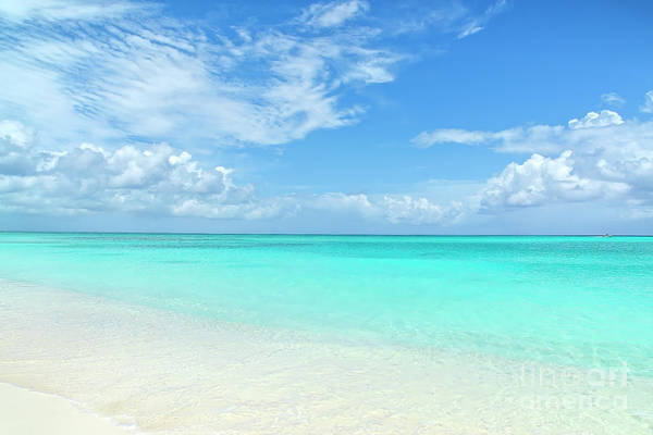 Wall Art - Photograph - Seascape In Grace Bay, Turks And Caicos by Julia Hiebaum