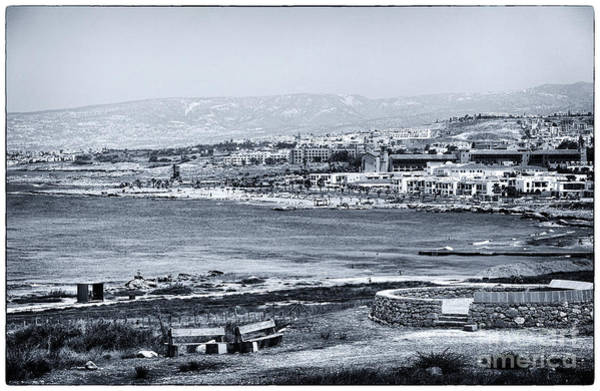Wall Art - Photograph - Seascape In Paphos by John Rizzuto