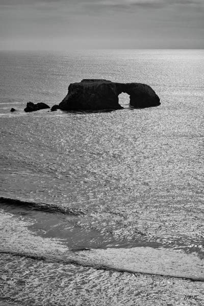 Photograph - Seascape Jenner California Iv Bw by David Gordon