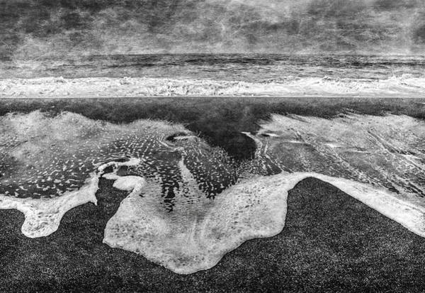 Digital Art - Seascape by Mark Holcomb