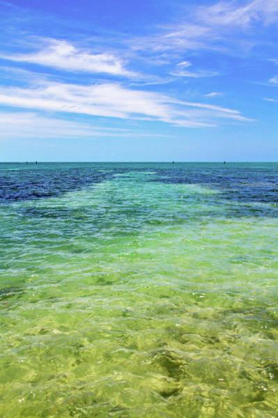 Photograph - Seascape - The Colors Of Key West by Bob Slitzan