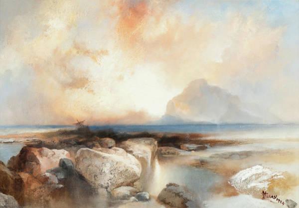 Wall Art - Painting - Seascape by Thomas Moran