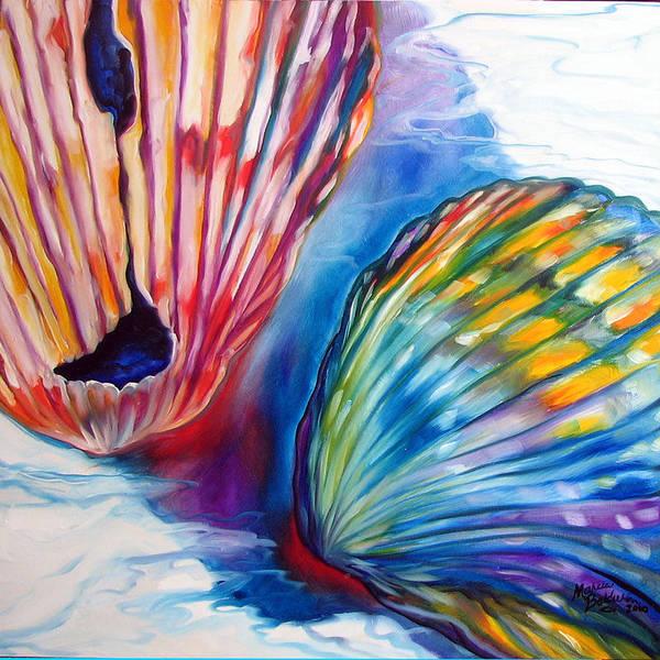 Painting - Seashell Abstract II by Marcia Baldwin