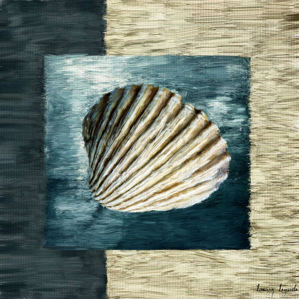 Cottage Style Wall Art - Digital Art - Seashell Souvenir by Lourry Legarde