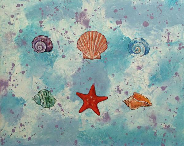 Wall Art - Painting - Seashells by Michael Creese