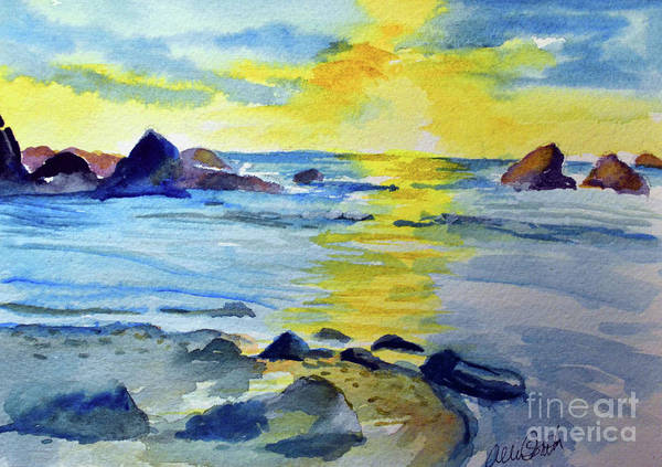 Painting - Seashore by Allison Ashton