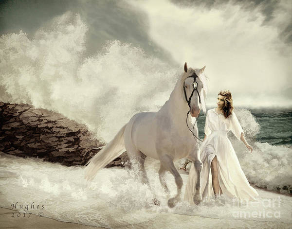Digital Art - Seashore Frolic by Melinda Hughes-Berland