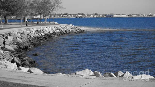 Photograph - Seaside Blue by Cj Mainor
