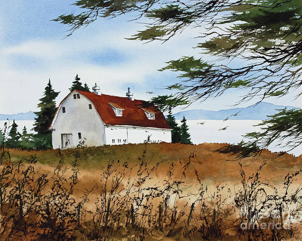 Wall Art - Painting - Seaside Country by James Williamson