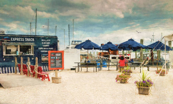 Photograph - Seaside Dining by Robin-Lee Vieira