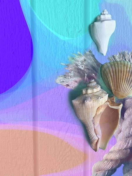 Digital Art - Seaside by Gina Harrison