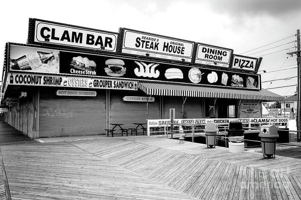 Down The Shore Photograph - Seaside Heights Boardwalk Dining by John Rizzuto