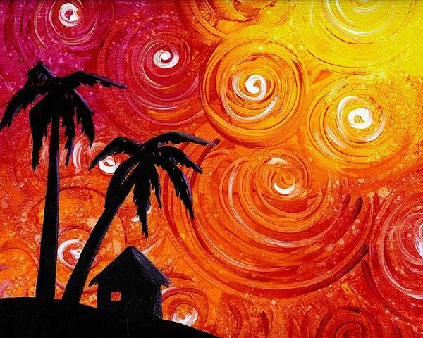Wall Art - Painting - Seaside Lights by Cindy Thornton