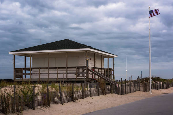 Photograph - Seaside Nj Lifeguard Station by Terry DeLuco