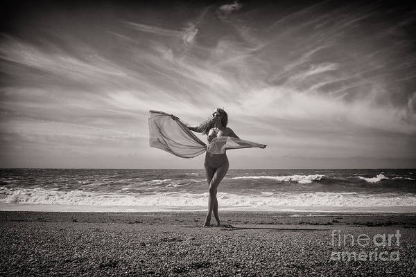 Photograph - Seaside Nude by Clayton Bastiani