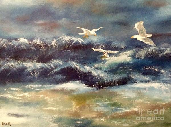 Painting - Seaside Serenade by Denise Tomasura