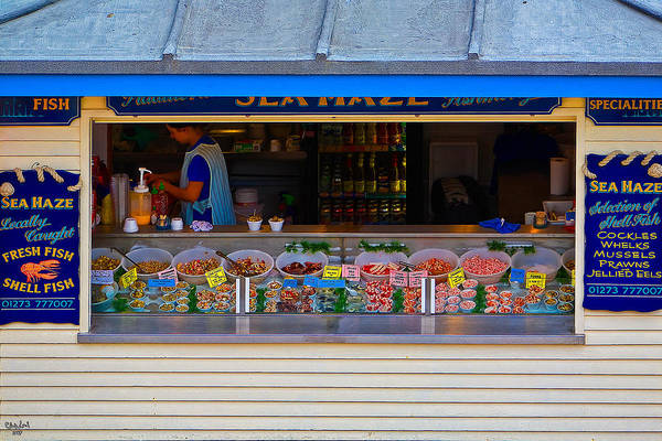 Photograph - Seaside Shellfish Snack Shack by Chris Lord