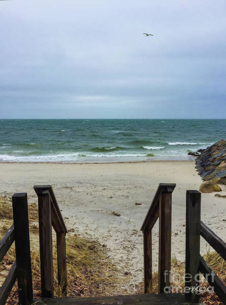 Photograph - Seaside Steps by Michelle Constantine