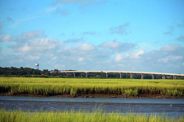 Photograph - Seaside To Mainland Bridge by Cynthia Guinn