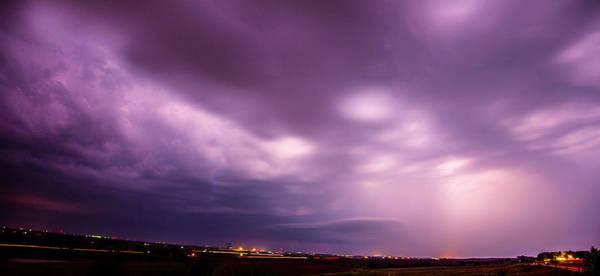 Photograph - Seasonal August Nebraska Storms 005 by NebraskaSC