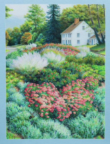 Painting - Seasonal Beauty At 17 And Main by Lynn Bywaters