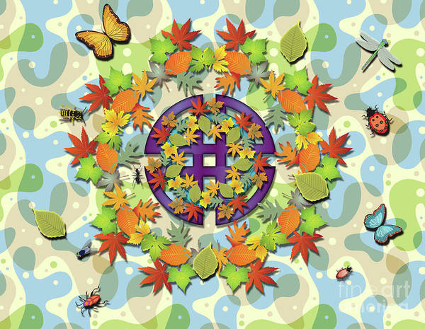 Digital Art - Seasonal Cycle by Ariadna De Raadt