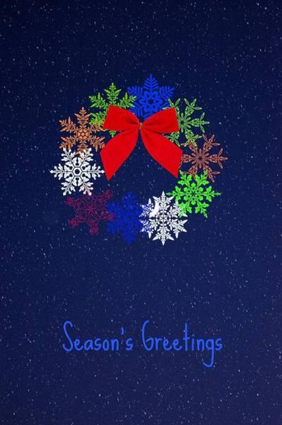 Digital Art - Season's Greetings 2 by Donna Bentley