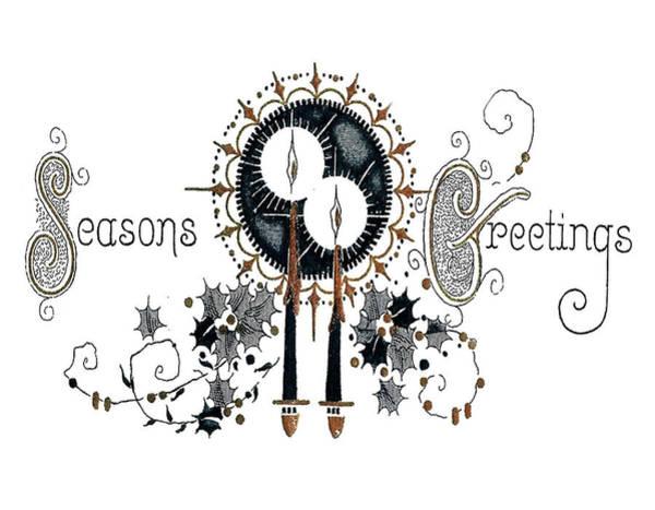 Candles Digital Art - Seasons Greetings by Long Shot