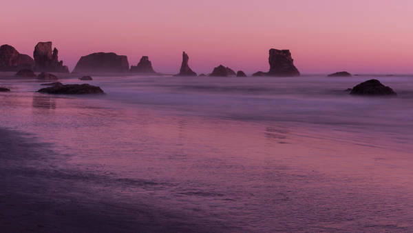 Photograph - Seastacks At Bandon By The Sea by Brenda Jacobs